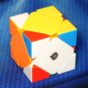 Cong's design Meichen Skewb stickerless