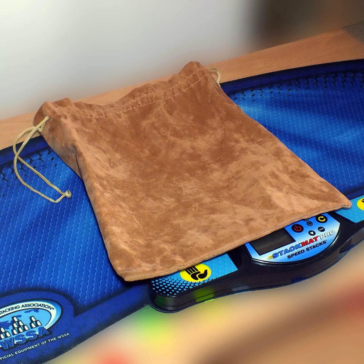 Сумочка для кубов 11×11 коричневая