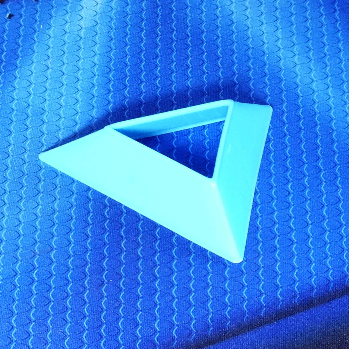 Подставка для кубиков, голубая