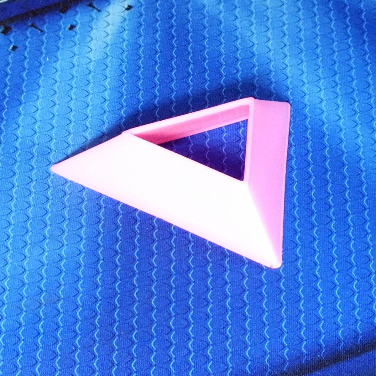 Подставка для кубиков розовая