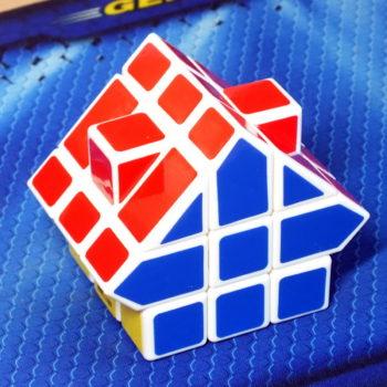 CubeTwist Big House II white