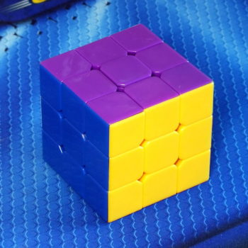 Dayan 5 Zhanchi 3x3 stickerless black-purple