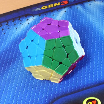 Dayan Megaminx stickerless, с выступами