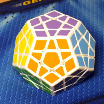 Mofangge X-man design Galaxy Megaminx white, вогнутый