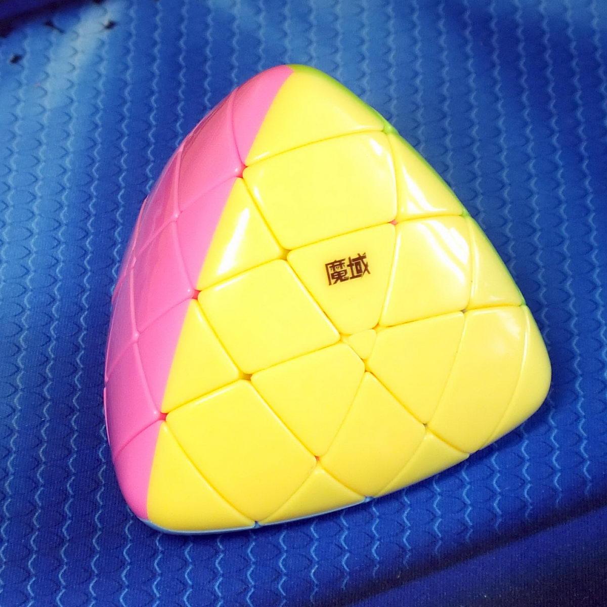 Moyu Aosu Megamorphix 4x4 stickerless-pink