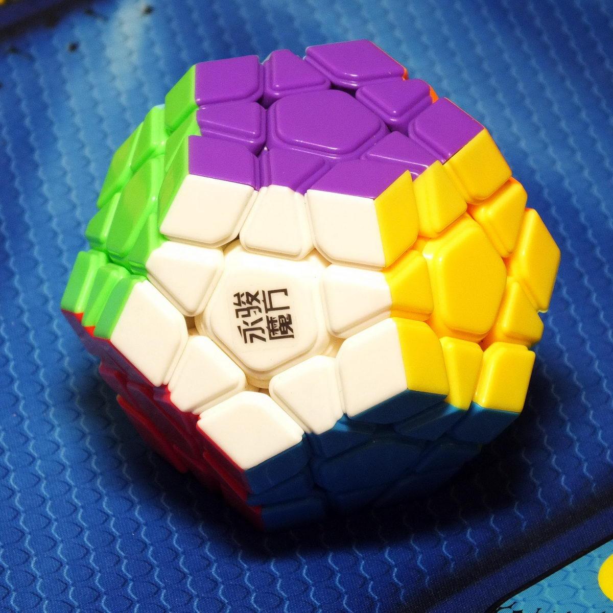 Moyu YuHu Megaminx stickerless