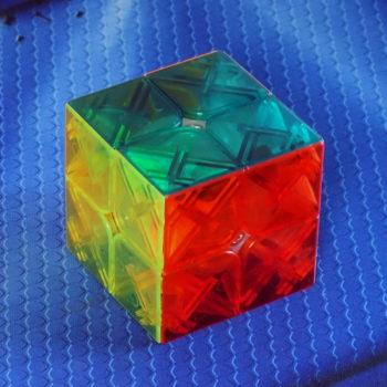 Moyu YuPo transparent stickerless