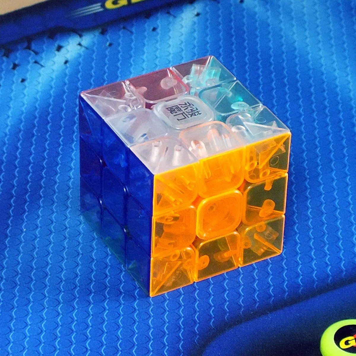Moyu Yulong 3x3 transparent stickerless