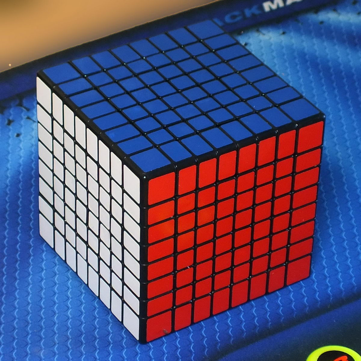 Shengshou 83mm 8x8 black