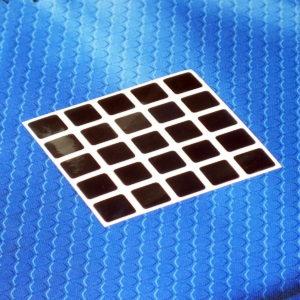 Наклейки (стикеры) для кубов 5 на 5 фирмы Moyu