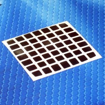 Наклейки (стикеры) для кубов 7 на 7 Moyu Aofu