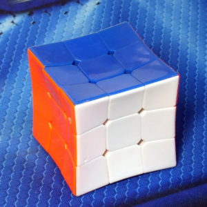 X-cube Concave Cube 3x3 stickerless