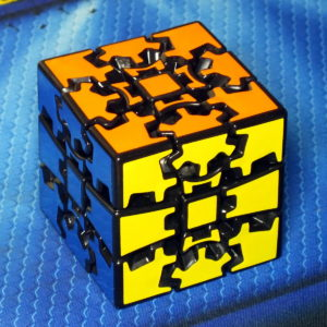 X-cube Gear cube II black
