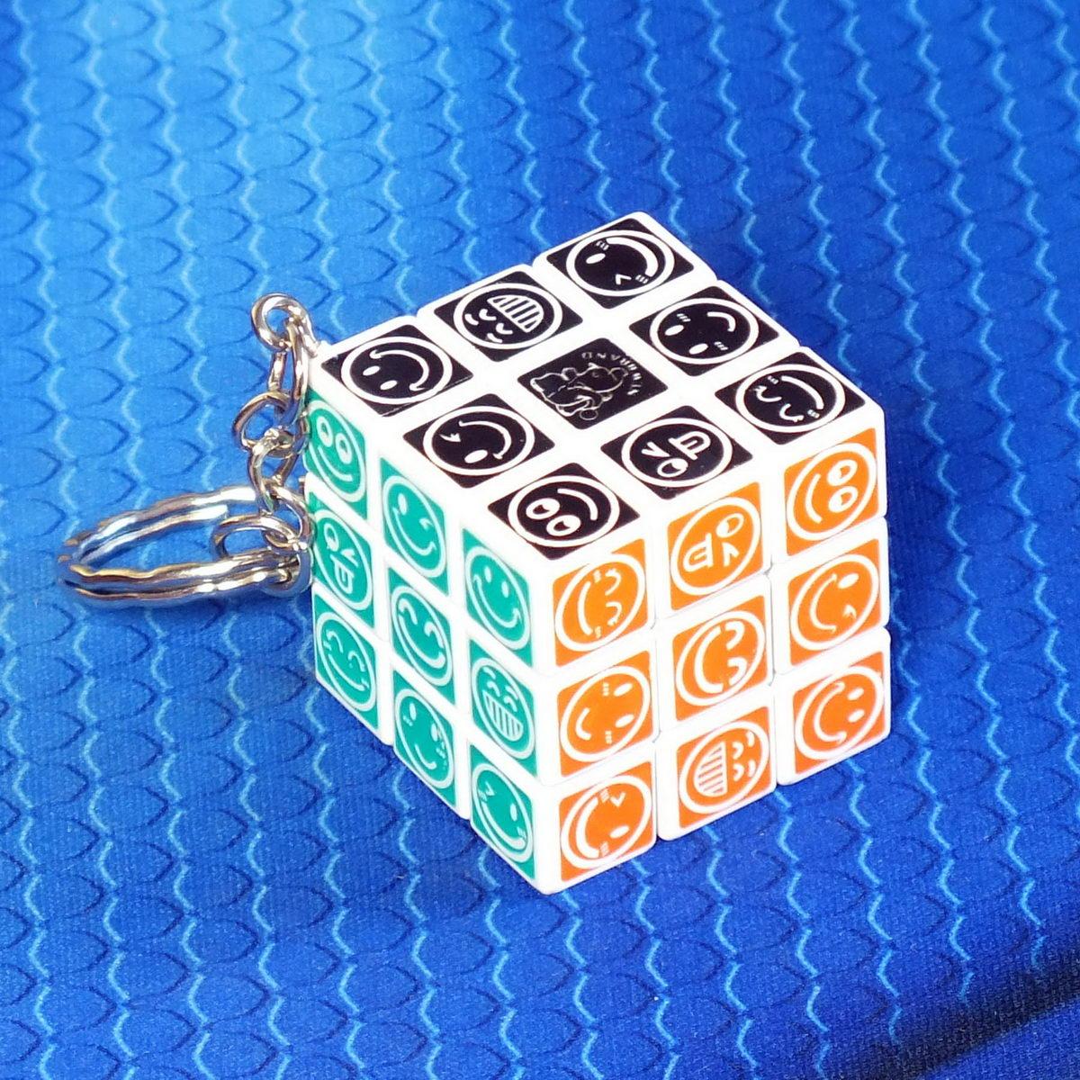 "Брелок ""Кубик Рубика"" со смайликами"