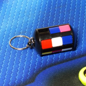 X-cube Mini Babylon tower keychain