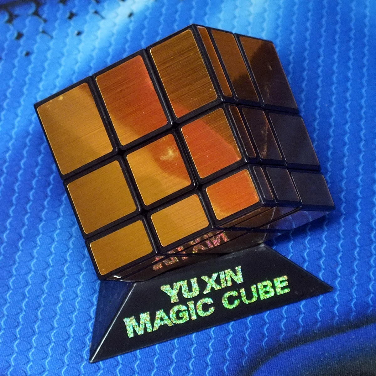 Yuxin Mirror Blocks gold