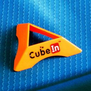 Подставка для кубиков оранжевая