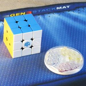 Gan 354 M 3x3 stickerless