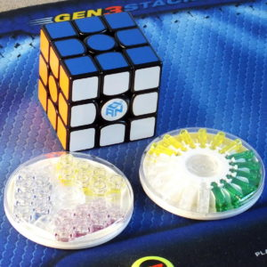 Gan 356 X Numberical IPG 3x3 black