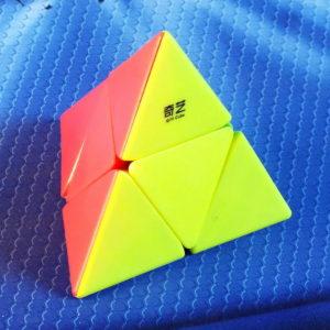 MoFangGe 2x2 Pyraminx stickerless