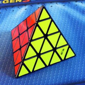 MoFangGe 4x4 Pyraminx black
