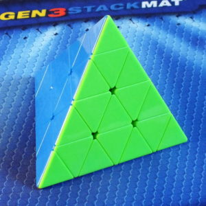 MoFangGe 4x4 Pyraminx stickerless