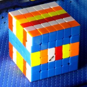 Кубик Рубика MoFangGe WuHua v2 6x6 stickerless