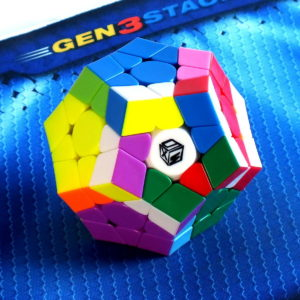 Головоломка MoFangGe X-man Galaxy Megaminx v2 stickerless, вогнутый