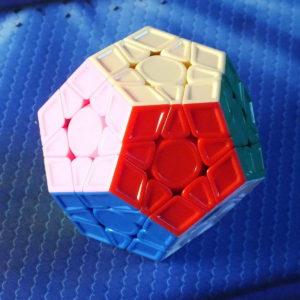 Mofangge X-man design Galaxy Megaminx v2L stickerless, рельефный