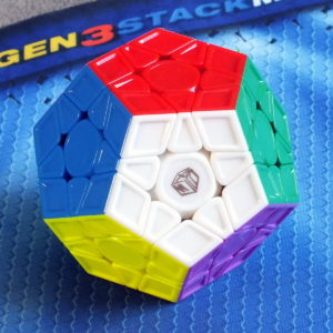 Mofangge X-man design Galaxy Megaminx v2LM Magnetic stickerless, рельефный