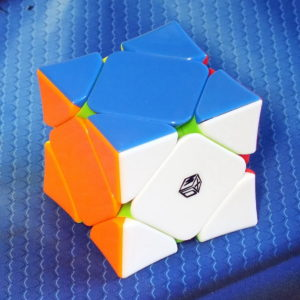 MoFangGe X-man design Wingy Magnetic skewb stickerless