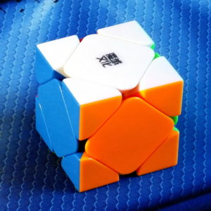 Moyu AoYan Magnetic Skewb stickerless