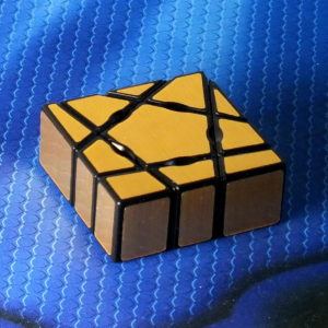 Головоломка Moyu Ghost Mirror Blocks 1x1 golden