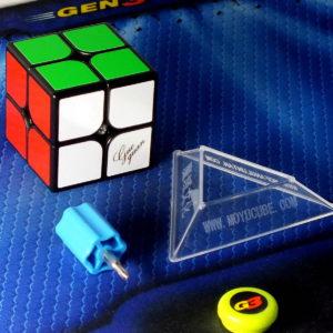Кубик Рубика Moyu GuoGuan XingHeng Magnetic 2×2 black