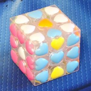 Moyu Love cube 3x3 transparent