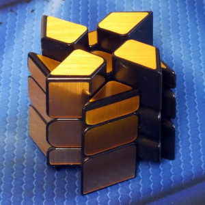 Moyu Windmill Mirror Blocks golden