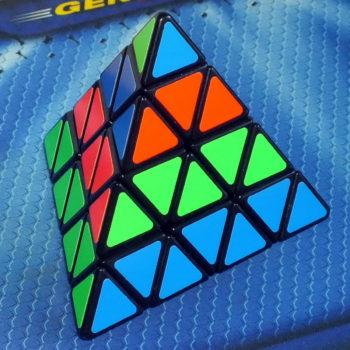 Shengshou Master Pyraminx 4x4 black