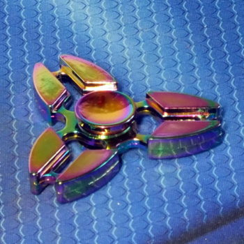 Спиннер металлический Crab alloy