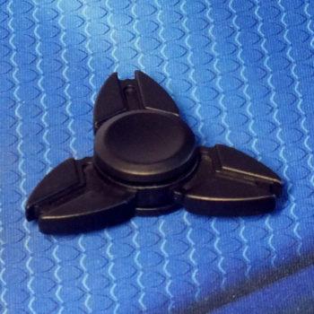 Спиннер металлический Crab black