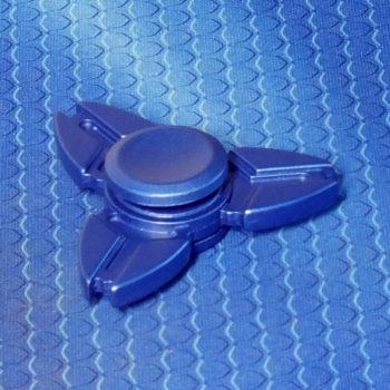 Спиннер металлический Crab blue