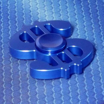 Спиннер металлический Dollar blue