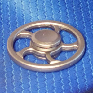 Спиннер металлический S-Wheel silver
