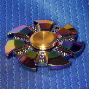 Спиннер металлический Wheel alloy
