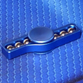 Спиннер металлический Whistle blue