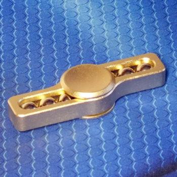Спиннер металлический Whistle golden