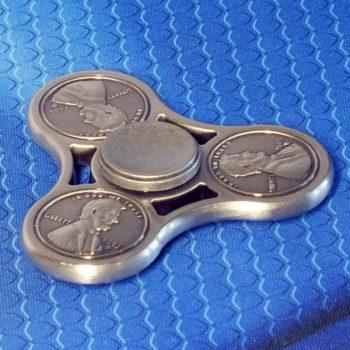 Спиннер металлический USD silver
